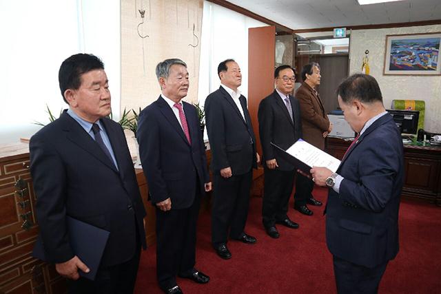 통영시의회, 2018 회계연도 결산검사위원 위촉2.jpg