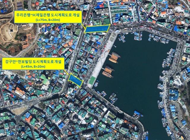 통영시 강구안 주변 도심가로망 시원하게 뚫린다-도시계획도로 개설계획(2019_2024).jpg