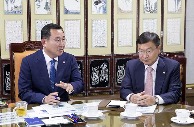 통영시, 국회의원·도의원 간담회 개최3.jpg