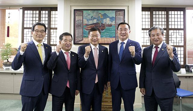 통영시, 국회의원·도의원 간담회 개최1.jpg