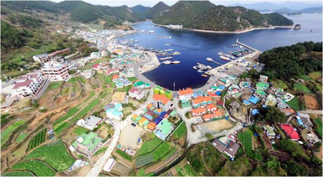 2020년 신재생에너지보급 융·복합지원사업 선정-통영시 산양읍 전경.jpg