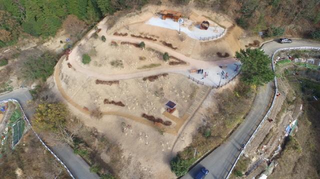 [크기변환]통영시, 2020년 도시숲·녹지공간 조성사업 평가 우수기관 선정-망일근린공원 내 산림공원 조성.JPG