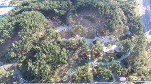 [크기변환]통영시, 2020년 도시숲·녹지공간 조성사업 평가 우수기관 선정-안정근린공원.JPG